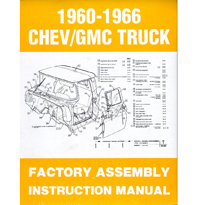 (1960-66)  Factory Assembly Manual
