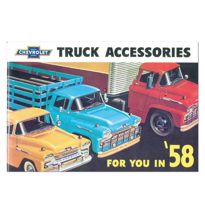 (1958)  Accessory Sales Brochure