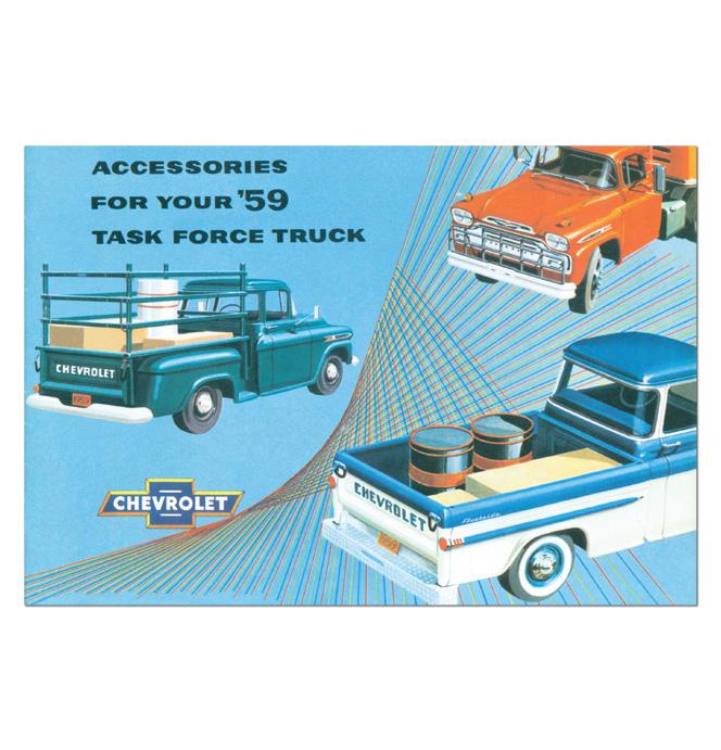 (1959)  Accessory Sales Brochure