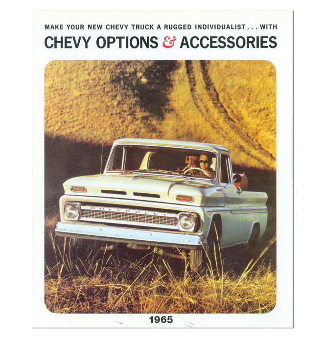 (1965)  Accessory Sales Brochure