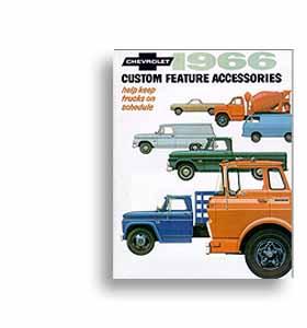 (1966)  Accessory Sales Brochure