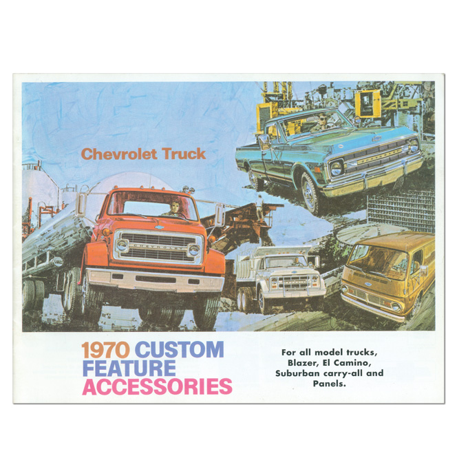 (1970)  Accessory Sales Brochure
