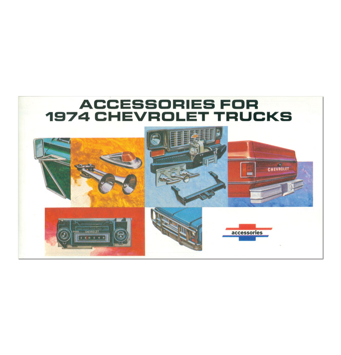 (1974)  Accessory Brochure
