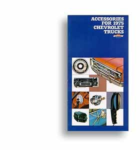 (1975)  Accessory Brochure