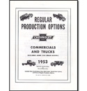 (1953)  RPO Booklet
