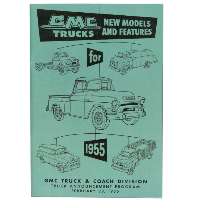 (1955) GMC New Models and Features Book
