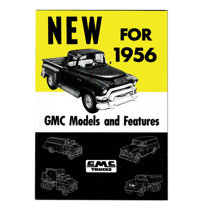 (1956) GMC New Models and Features Book