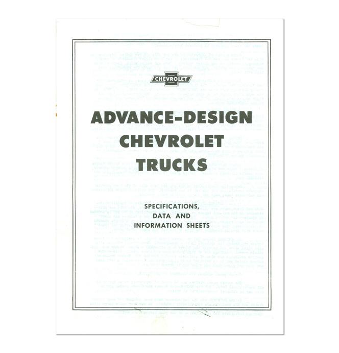 (1947-55 1st Series) Dealers Data & Information Pamphlet