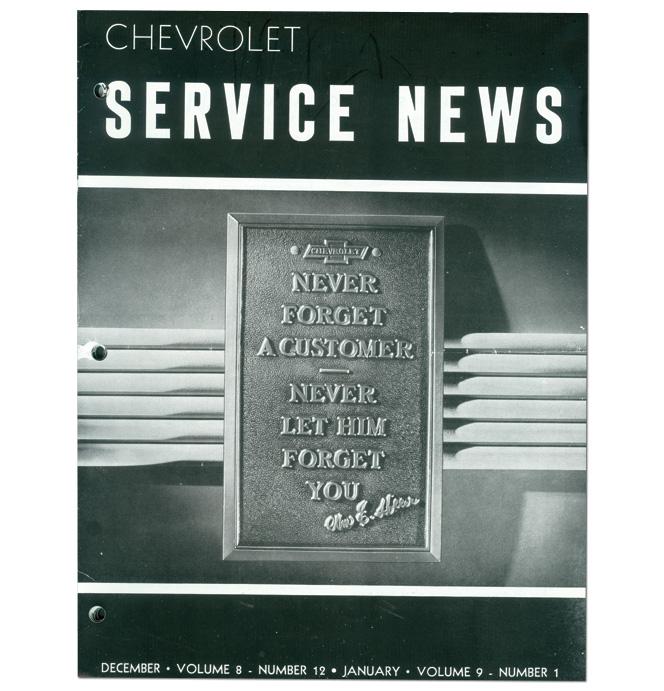 (1935)  Service Bulletin