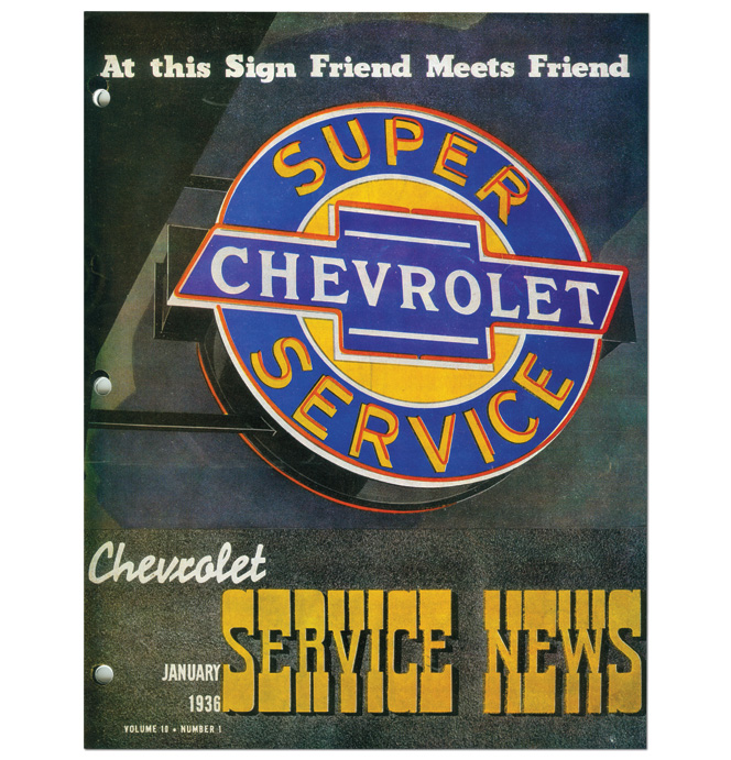 (1936)  Service Bulletin