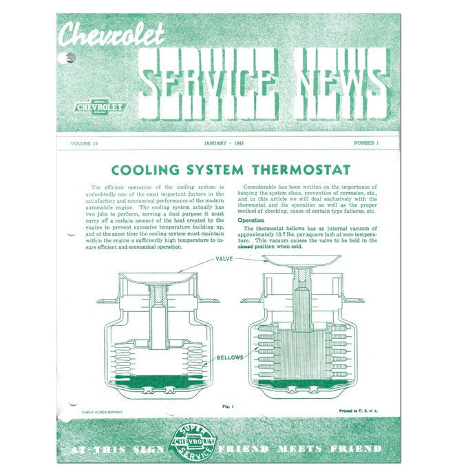 (1941)  Service Bulletin