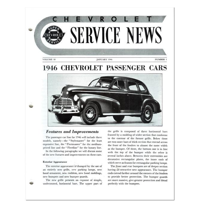 (1946)  Service Bulletin