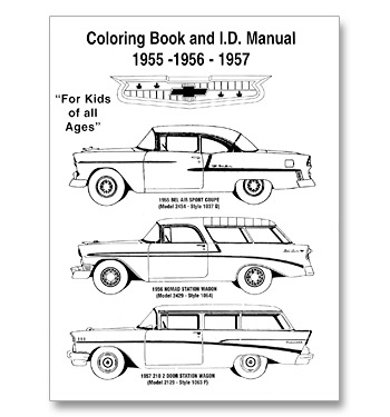 (1955-59)  Coloring Book & ID Manual