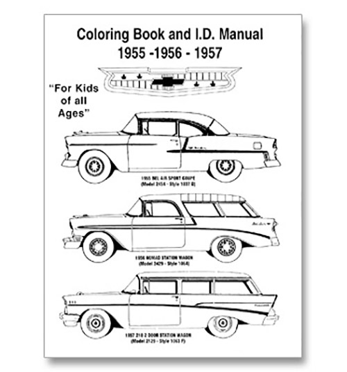 coloring book  u0026 id manual