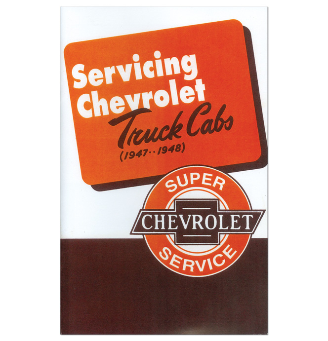 (1947-50)  Servicing Chevrolet Truck Cabs