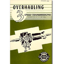 (1948-54)  Transmission Overhaul Manual - 3 Speed