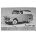 (1955) Truck Photo - 1/2 Ton Panel Truck