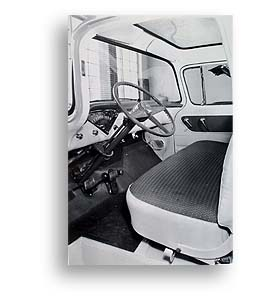 (1955)  Truck Photo - Deluxe Cloth Interior