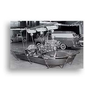 (1955)  Truck Photo - Motorama Truck Display