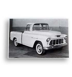 PAIR 1955-1958 CHEVY PICKUP CAMEO FRONT BED CAP