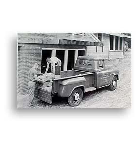 (1955)  Truck Photo - Longbed Truck