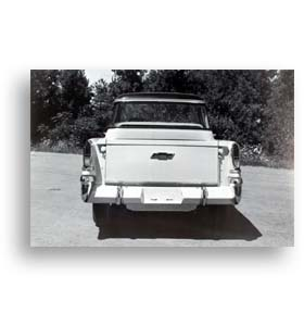(1957)  Truck Photo - Cameo - Rear View