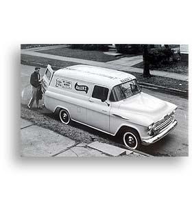 (1957)  Truck Photo - 1/2 Ton Panel Truck