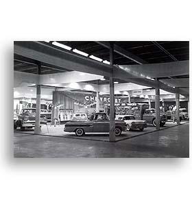 (1958)  Truck Photo - Motorama Truck Display