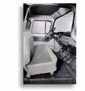(1958)  Truck Photo - Interior View