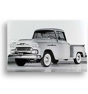 (1958)  Truck Photo - Apache 31 Pickup