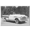 (1958)  Truck Photo - Cameo - Side View