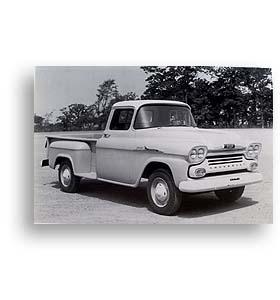 (1958)  Truck Photo - Longbed 3/4 Ton