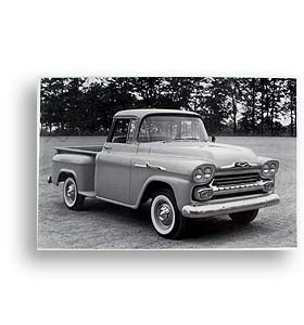 (1958)  Truck Photo - 1/2 Ton Pickup