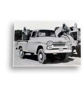 (1958)  Truck Photo - 4 Wheel Drive Pickup