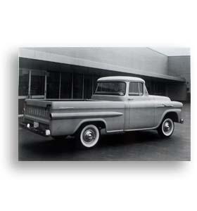 (1958)  Truck Photo - Fleetside Pickup