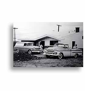 (1959)  Truck Photo - 1/2 Ton Panel & Fleetside