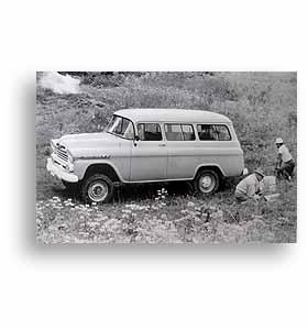 (1959)  Truck Photo - 4 Wheel Drive Suburban
