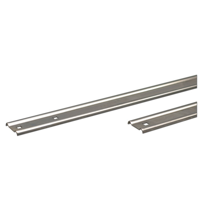 (1960-62)  * Bed Strips - Stainless Punched - Long Fleet 97