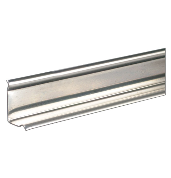 (1940-87)  * Angle Strip - Stainless Unpunched 77