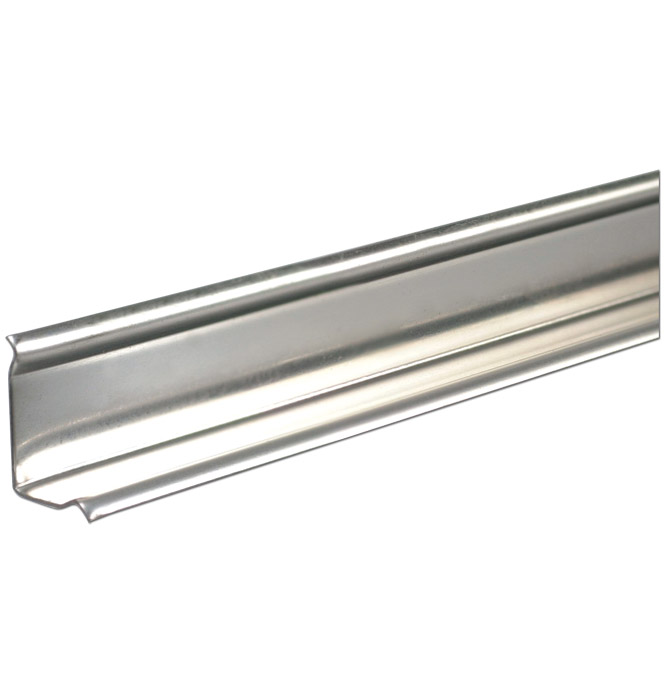 (1940-87)  * Angle Strip - Stainless Unpunched 97