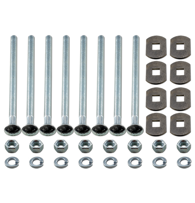 (1940-46)  Bed to Frame Bolt Kit - Zinc - Longbed - GMC
