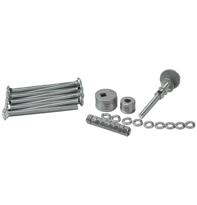 Bed to Frame Bolt Kit-Zinc-Sh-Classic Chevy Truck Parts