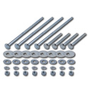 (1955-58)  Bed to Frame Bolt Kit - Zinc - Cameo