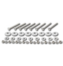 (1955-59)  Bed to Frame Bolt Kit - Stainless - Shortbed