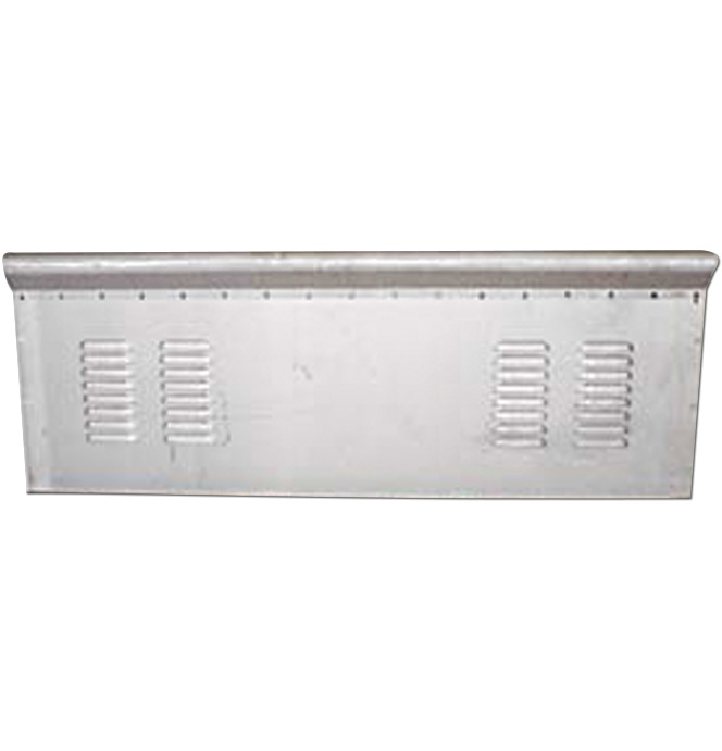 (1973-87)  * Front Bed Panel - Stepside - 4 Row Louvered
