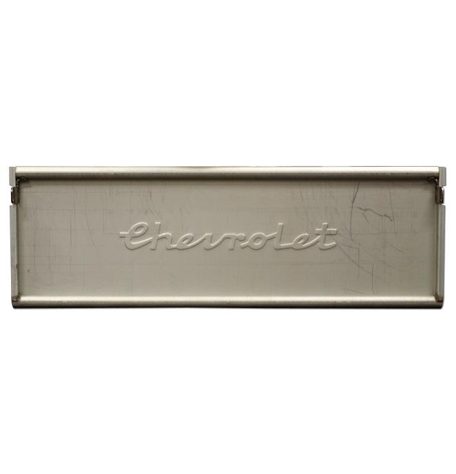 (1939)  * Tailgate - Original Chevrolet Script - Complete