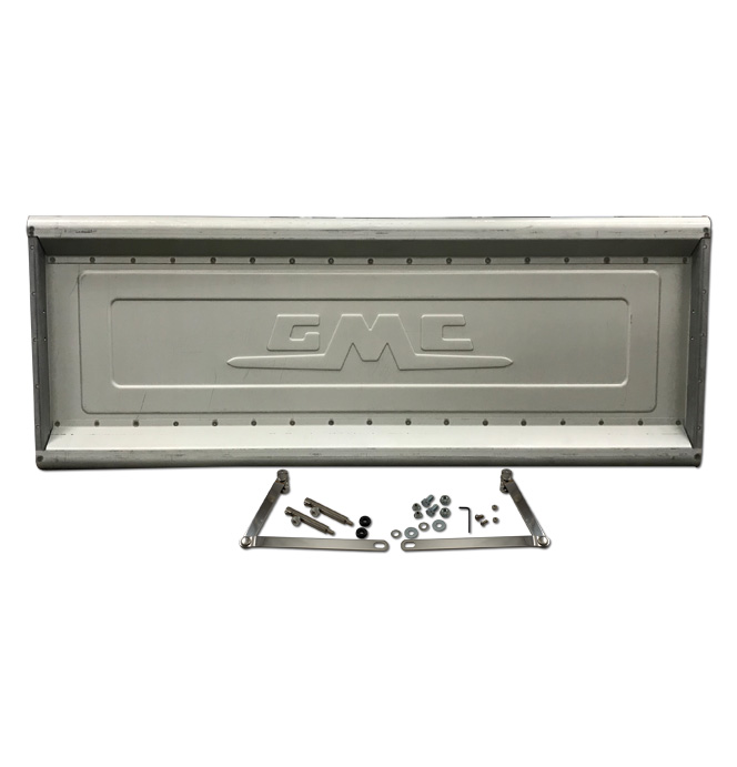 (1954-87)  * Tailgate w/ Stainless Hidden Latches & Links - GMC Stepside