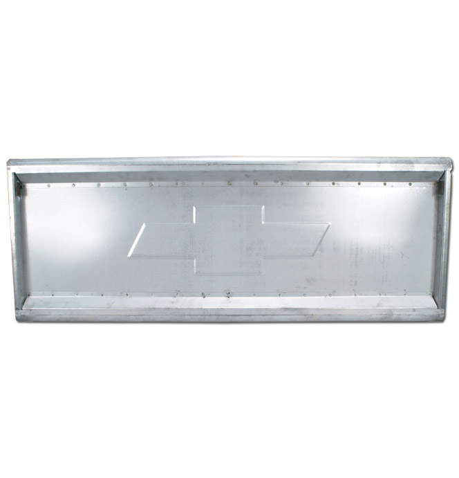 (1954-87)  * Embossed Tailgate w/ Hidden Latches & Links - Stepside - Bowtie