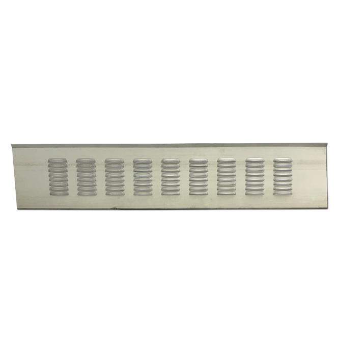 (1967-72)  * Tailgate Filler Panel - 9 Row Louvered - Fleetside