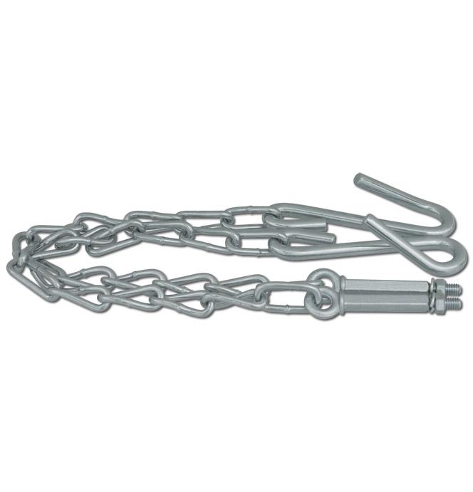 (1954-87)  Tailgate Chains - Zinc
